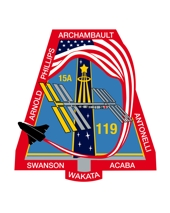 logo mise STS-119